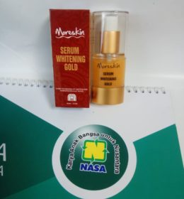 Moreskin Serum Whitening Gold Nasa