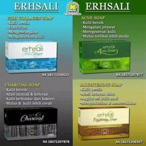 sabun ershali fish collagen