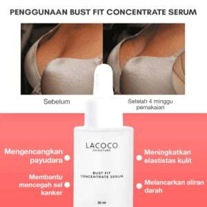 testimoni bust fit concentrate serum nasa